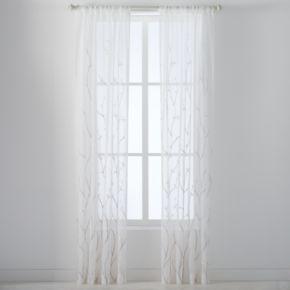 Laura Ashley 2-pack Vindedellion Window Curtains