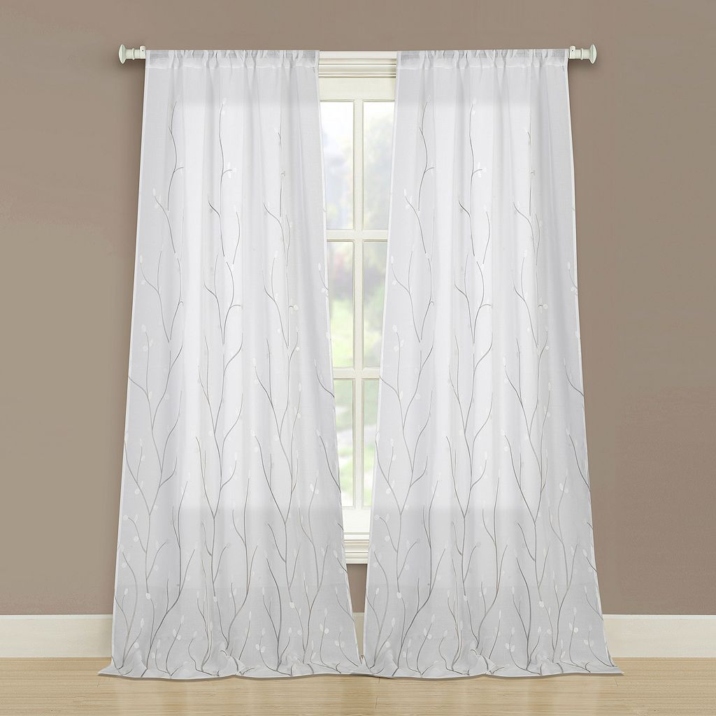 Laura Ashley 2-pack Vindedellion Window Curtains