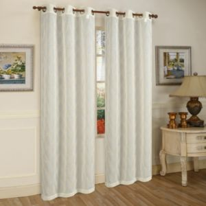 Beatrice Home Fashions 2-pack Conrad Curtain