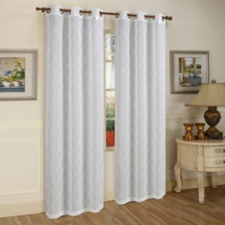 Beatrice Home Fashions 2-pack Conrad Window Curtain