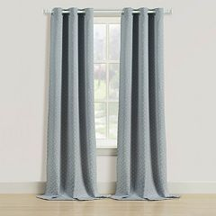 Beatrice Home Fashions 2-pack Rutland Window Curtains