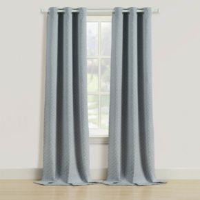 Beatrice Home Fashions 2-pack Rutland Window Curtains