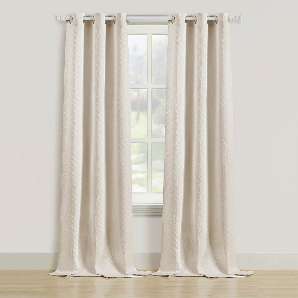 Beatrice Home Fashions 2-pack Rutland Window Curtain