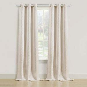 Beatrice Home Fashions 2-pack Rutland Curtain
