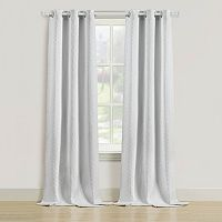 Beatrice Home Fashions 2-pack Rutland Window Curtain