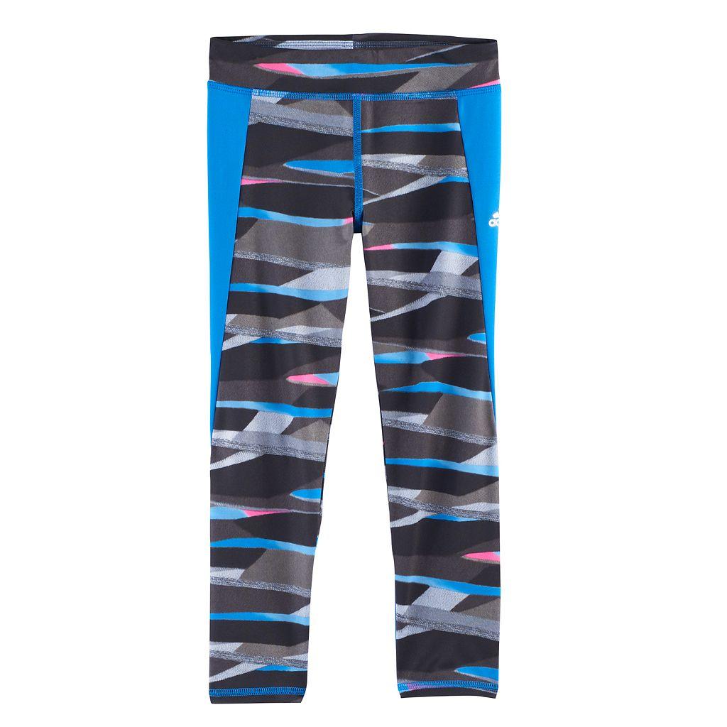 Girls 4-6x adidas Climalite Striped Tights