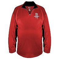 Big & Tall Majestic Houston Rockets Pullover