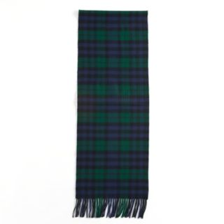 Softer Than Cashmere Plaid Fringed Oblong Scarf
