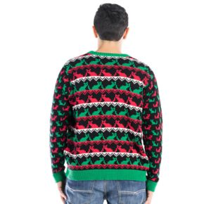 Men's Cat Ugly Christmas Sweater