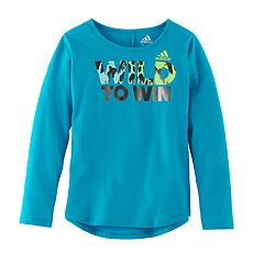 Girls 4-6x adidas 'Wild To Win' Long-Sleeved Tee