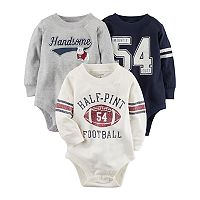 Baby Boy Carter's 3-pk. Sporty Graphic Bodysuits