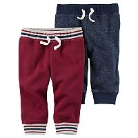 Baby Boy Carter's 2-pk. Fleece Jogger Pants