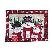 St. Nicholas Square® Snow Friends Tapestry Placemat