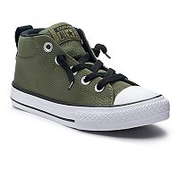Boys' Converse Chuck Taylor All Star Street Mid Slip-On Sneakers