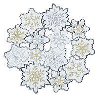 St. Nicholas Square® Snowflake Cutout Placemat