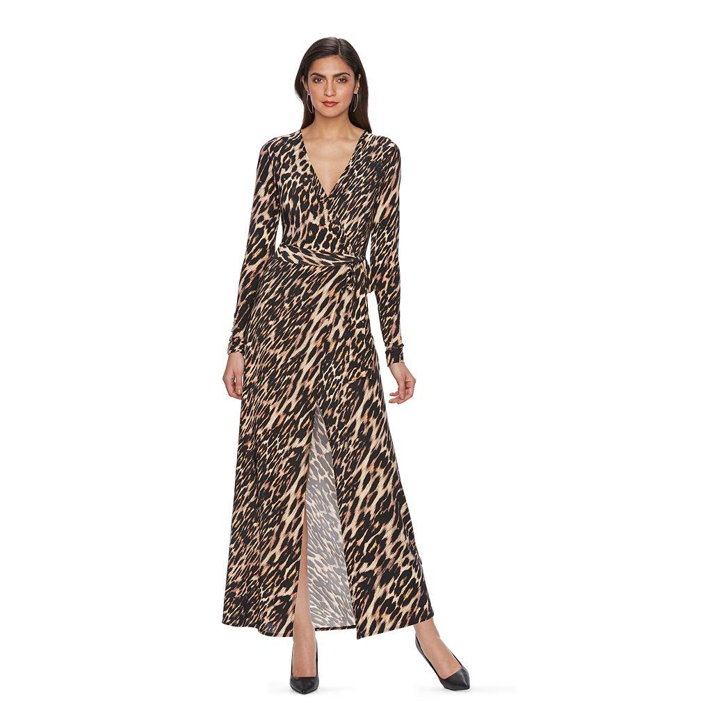Women's Jennifer Lopez Luxe Essentials Wrap Dress