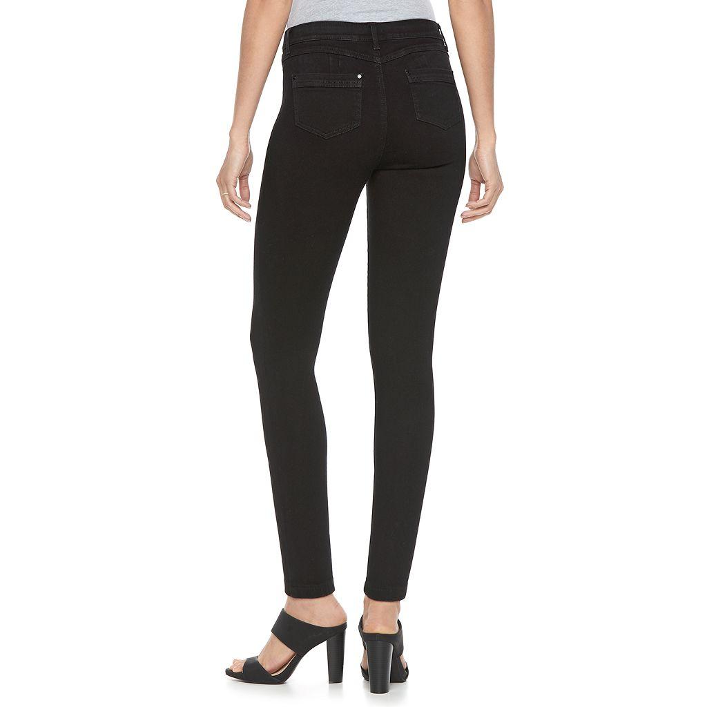 Women's Jennifer Lopez Black Super Stretch Skinny Jeans