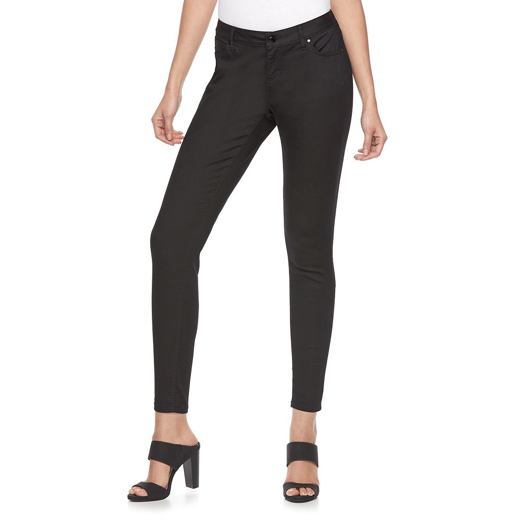 Women's Jennifer Lopez Black Skinny Jeans
