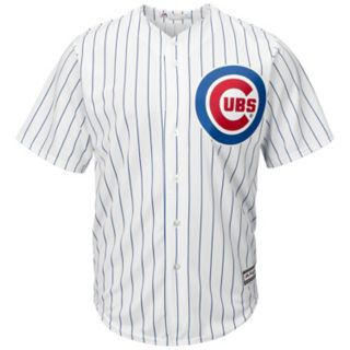 Men's Majestic Chicago Cubs Anthony Rizzo Cool Base Replica MLB Jersey