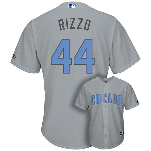 innovative design 3e19a c767c Men's Majestic Chicago Cubs Anthony Rizzo Cool Base Replica ...