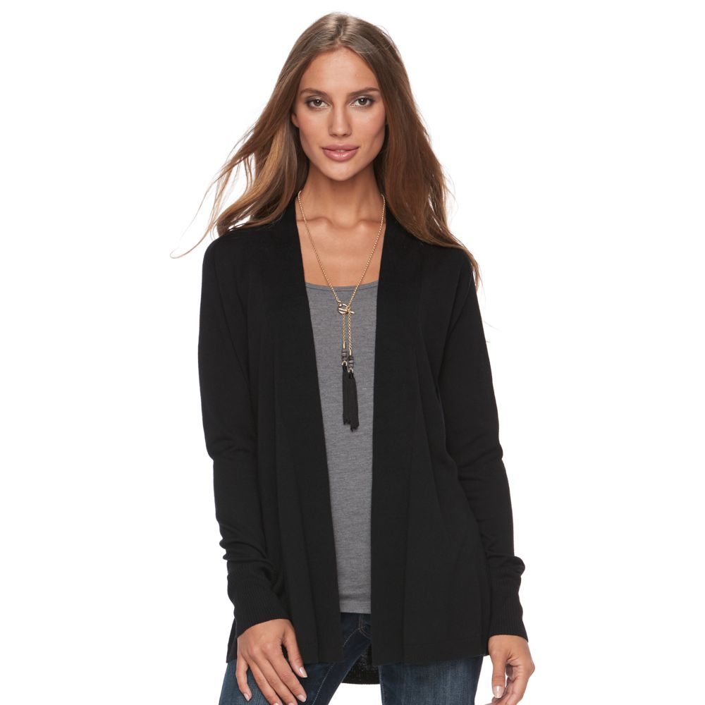 Apt. 9® Ribbed Cardigan