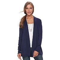 Women's Apt. 9® Ribbed Cardigan