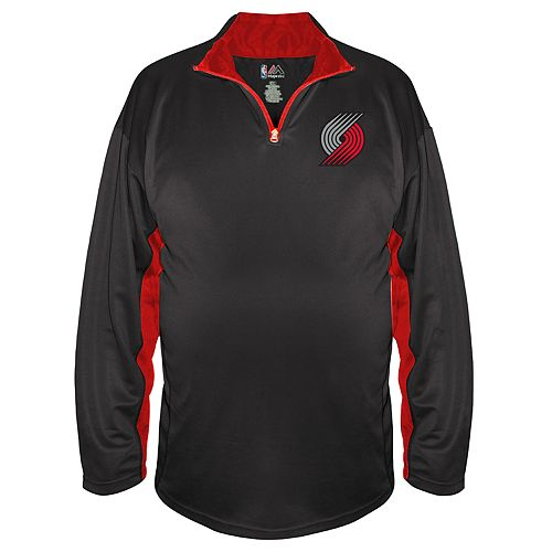 Big & Tall Majestic Portland Trail Blazers Pullover