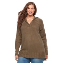 Womens Brown V-Neck Sweaters - Tops, Clothing | Kohl's