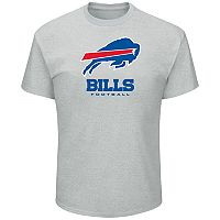 Big & Tall Majestic Buffalo Bills Logo Tee