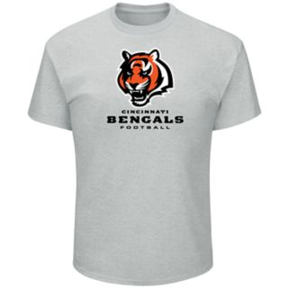 Big & Tall Majestic Cincinnati Bengals Logo Tee