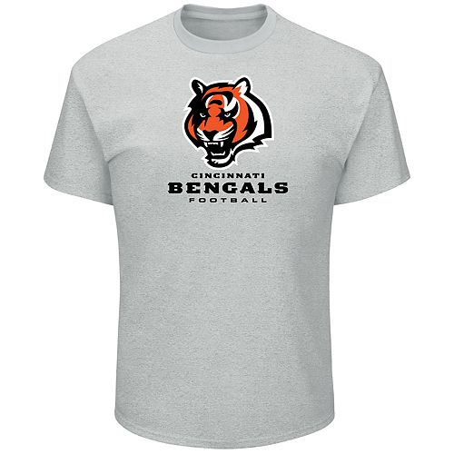 Big & Tall Majestic Cincinnati Bengals Logo Tee