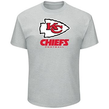 Big & Tall Majestic Kansas City Chiefs Logo Tee
