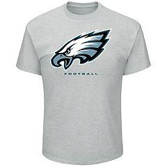 Big & Tall Majestic Philadelphia Eagles Logo Tee