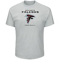 Big & Tall Majestic Atlanta Falcons Logo Tee