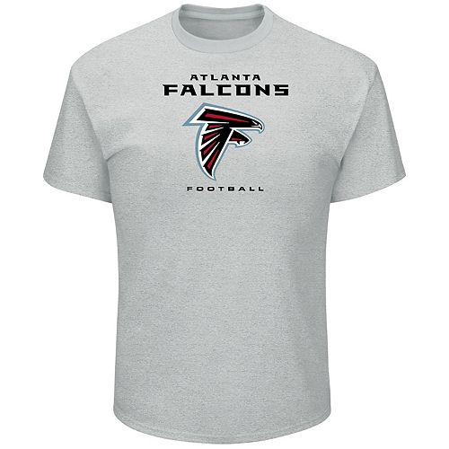 Big & Tall Majestic Atlanta Falcons Logo Tee