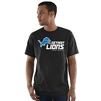 Big & Tall Majestic Detroit Lions Logo Tee
