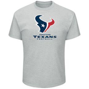Big & Tall Majestic Houston Texans Logo Tee