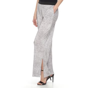 Women's Dana Buchman Printed Pleated Palazzo Pants