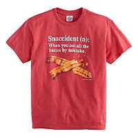 Boys 8-20 Bacon Snaccident Tee