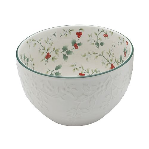 Pfaltzgraff Winterberry Embossed Bowl