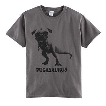 Boys 8-20 Pugasaurus Tee