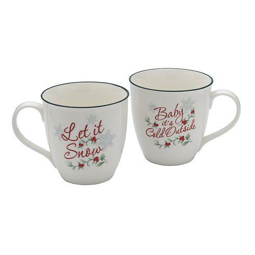 Pfaltzgraff Winterberry 2-pc. Mug Set