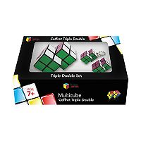 Family Games Inc. Multicube 3 pc Double Cube Set