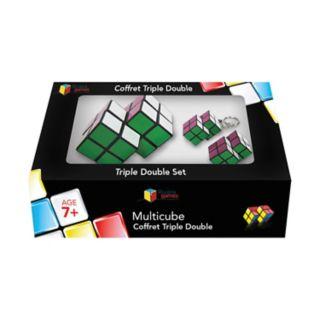 Family Games Inc. Multicube 3-pc. Double Cube Set