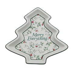 Pfaltzgraff Winterberry Tree Platter