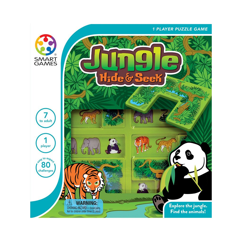Smart Toys and Games Jungle Hide & Seek Puzzle Game