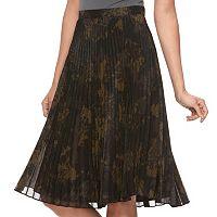Women's Jennifer Lopez Pleated Camo Skirt