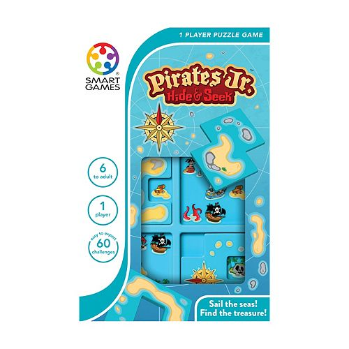 Smart Toys and Games Pirates Jr. Hide & Seek Puzzle Game