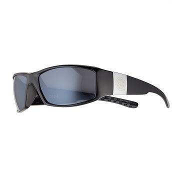 Adult Boston Bruins Chrome Wrap Sunglasses