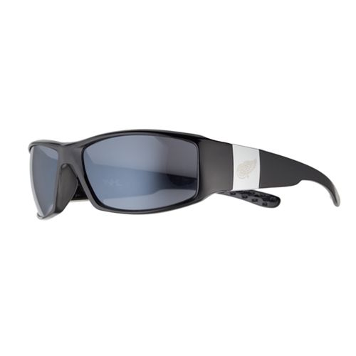 Adult Detroit Red Wings Chrome Wrap Sunglasses